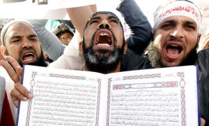 "The belief that God dictated the Koran to Muhammad is the fundamental problem of Islam, along with the Muslim belief they must follow the example of Muhammad's behavior, which includes the murder or subjugation of people who refuse to believe in him as ""God's Messenger."""